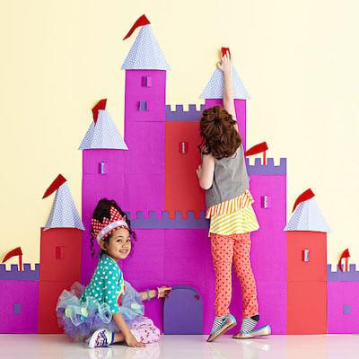 DIY Paper Princess Castle by Parents