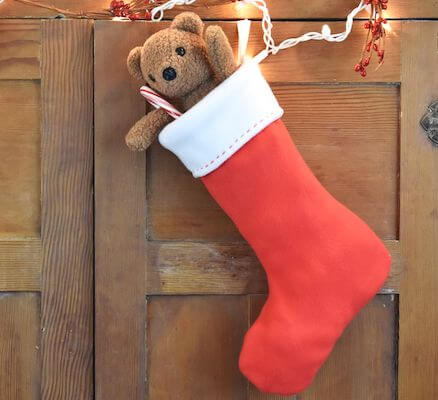 Free Christmas Stocking Pattern by The Spruce Crafts