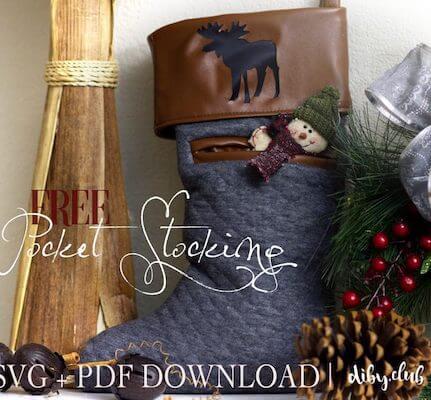 Free Pocket Stocking by DIBY Club