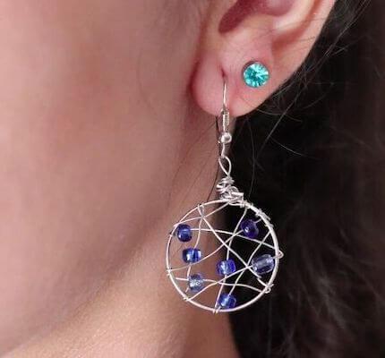 Gorgeous DIY Hoop Earrings by Upstyle