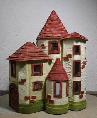 Magical Fairy Castle Out Of Plastic Bottles by DIY & Crafts