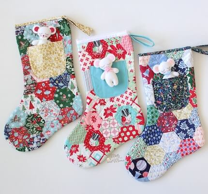 Night Before Christmas Stocking Sewing Pattern by Molly And Mama