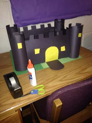 Paper Castle Craft by Instructables