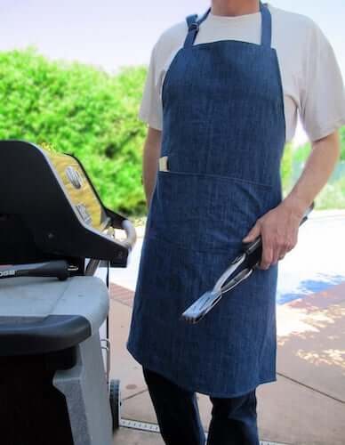 The Man Apron Sewing Pattern by Tie Dye Diva