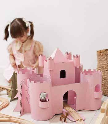 Toy Castle Craft by A Beautiful Mess