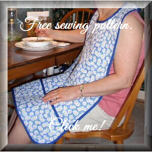 Adult Bib Pattern from Laurie's Sewing Studio