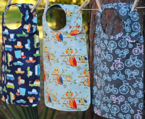 Adult Bibs in all Sizes by Fish Sticks