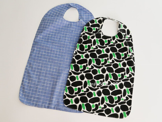 Free Adult Bib Pattern from ithinksew Patterns & More
