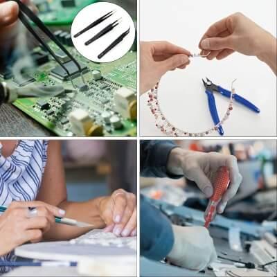 HANDSKIT 21 in 1 Soldering Iron Kit Electronics best jewelry soldering kit