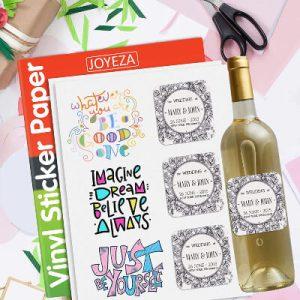 JOYEZA Premium Printable Vinyl Paper for Inkjet Printer