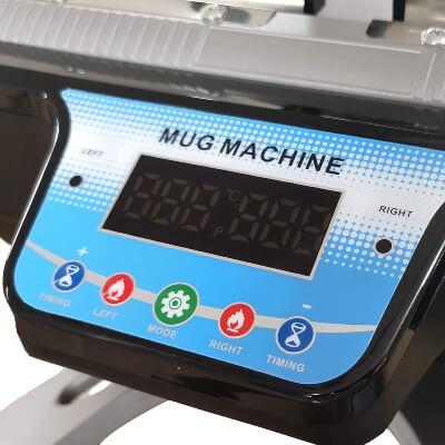 Mini Double Station Mug Printing Machine