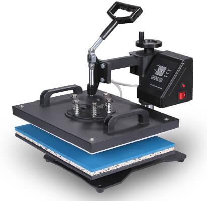 Mophorn Heat Press Machine Vinyl Multifunction Sublimation Combo