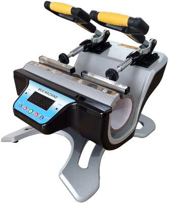 US Stock 110V Automatic Mini Double Station Mug Printing Machine