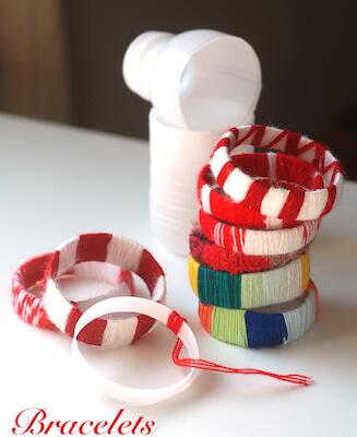 Bracelets From Empty Plastic Bottles by Krokotak
