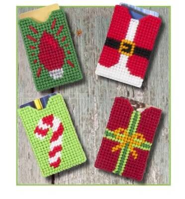 Gift Card Holders Plastic Canvas Pattern by Fairy Penguin Crafts