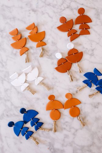 How To Make Clay Earrings by Collective Gen