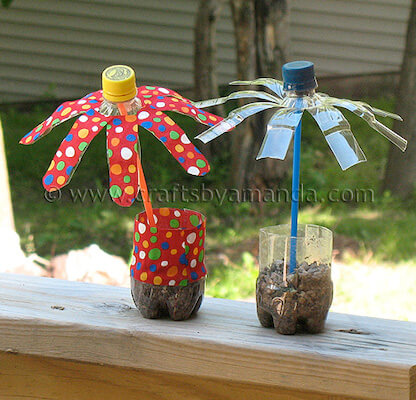 Plastic Water Bottle Flowers by Crafts By Amanda