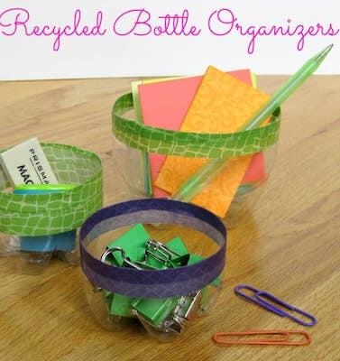 Recycled Plastic Bottle Organizers by Organized 31