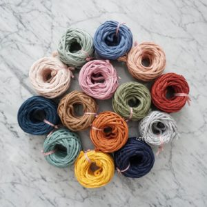 Recycled Cotton Macrame Cord 4mm 50 ft