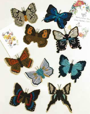 Plastic Canvas Butterfly Pattern by PDF Craft Patterns