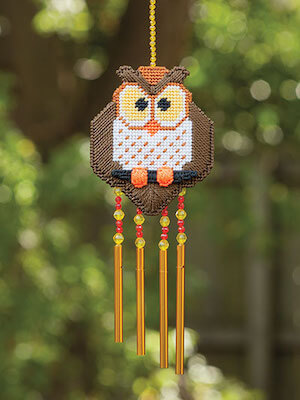 Plastic Canvas Wind Chimes Pattern by Craft Drawer