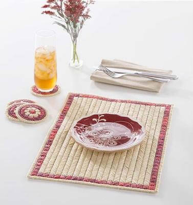 Spice Islands Placemat Plastic Canvas Pattern by Premier Yarns